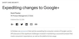 「Google+」2019年4月終了へ